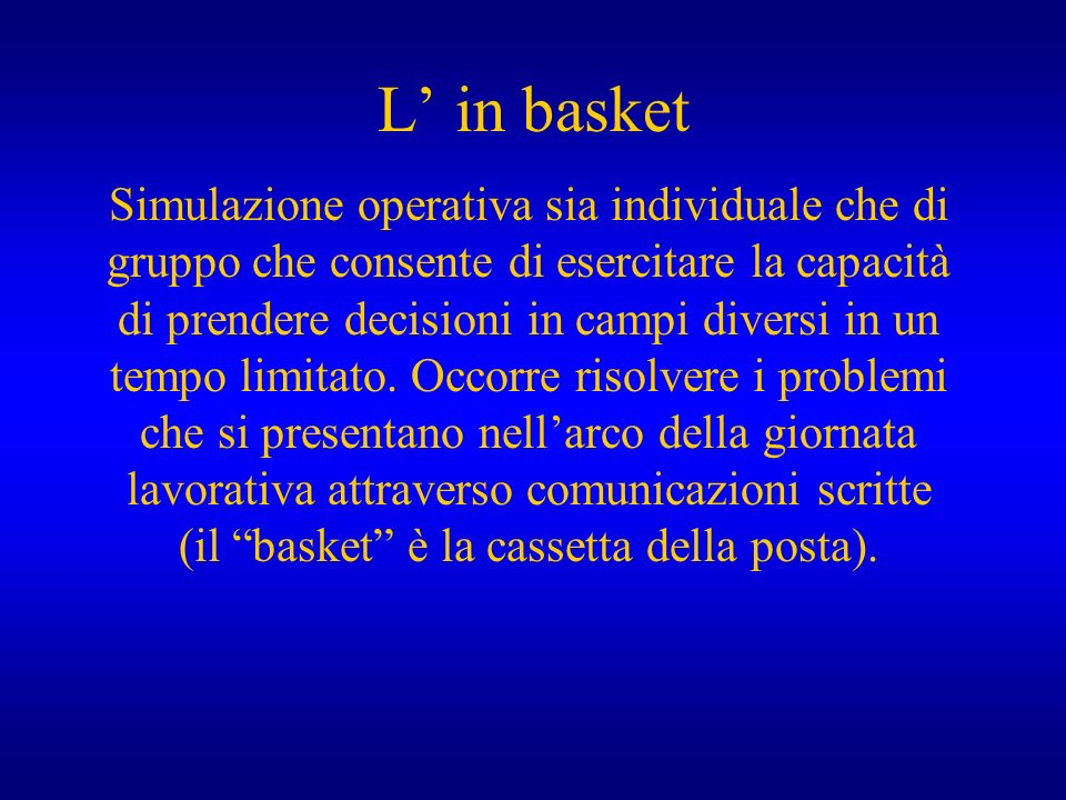 L' in basket