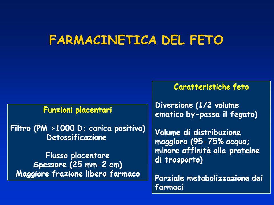 FARMACINETICA DEL FETO