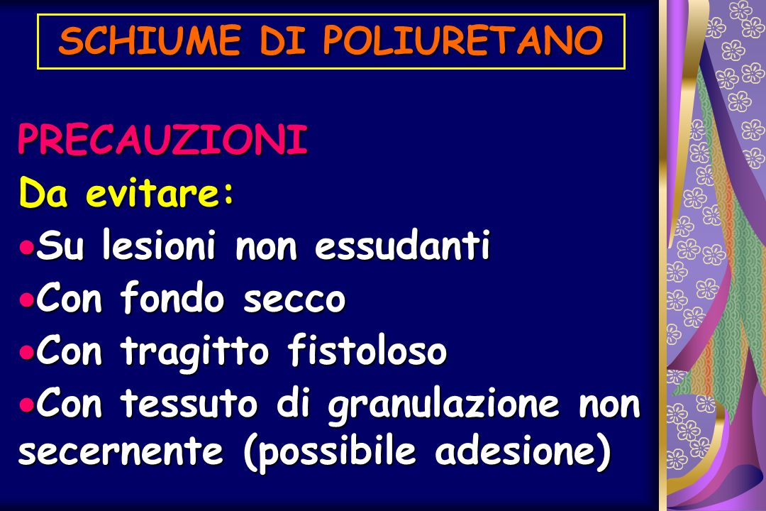 SCHIUME DI POLIURETANO