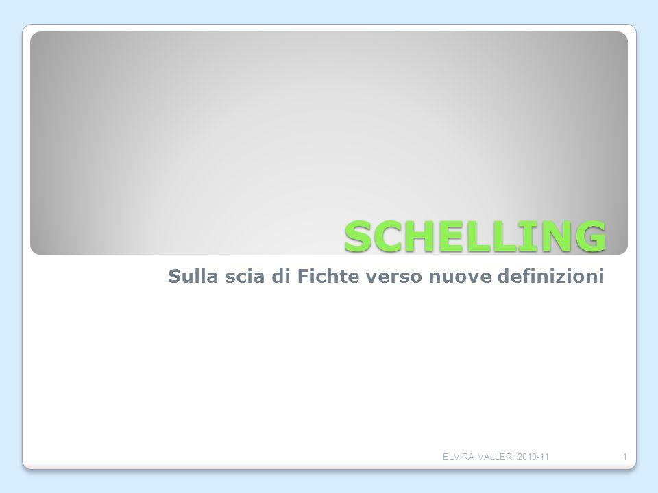 Sulla scia di Fichte verso nuove definizioni