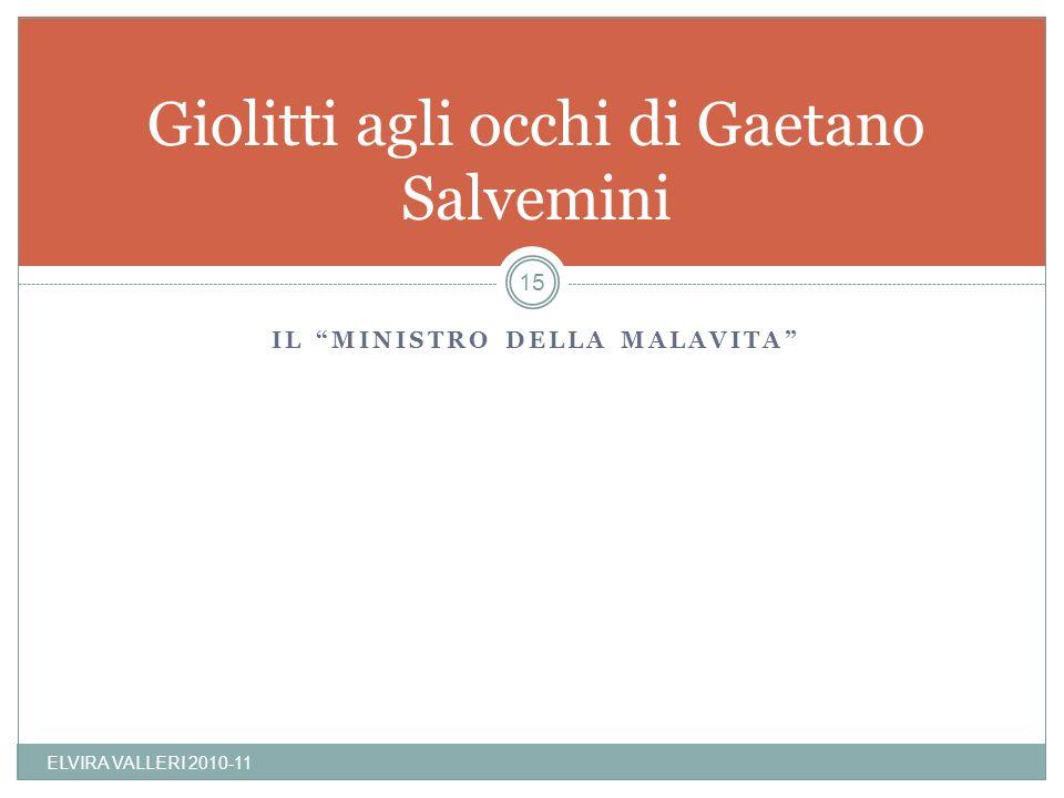 Giolitti agli occhi di Gaetano Salvemini