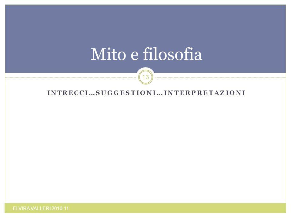 Intrecci…suggestioni…interpretazioni