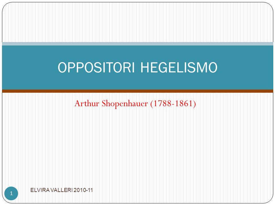 Arthur Shopenhauer (1788-1861)
