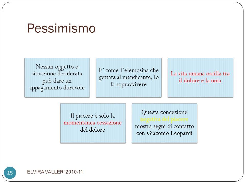 Pessimismo ELVIRA VALLERI 2010-11