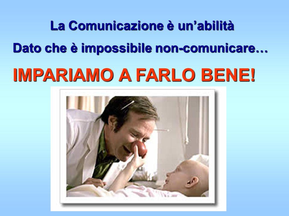 La Comunicazione è un'abilità