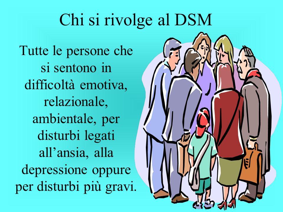 Chi si rivolge al DSM