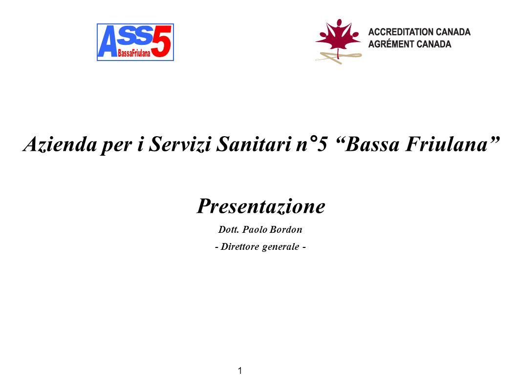 Azienda per i Servizi Sanitari n°5 Bassa Friulana