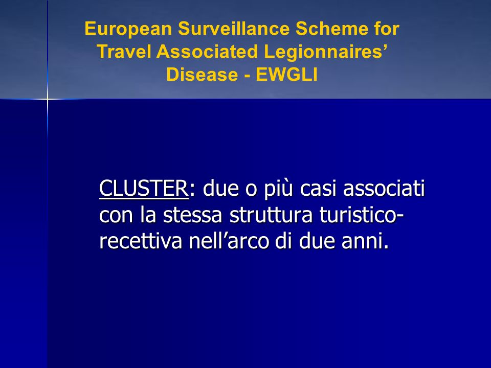 European Surveillance Scheme for