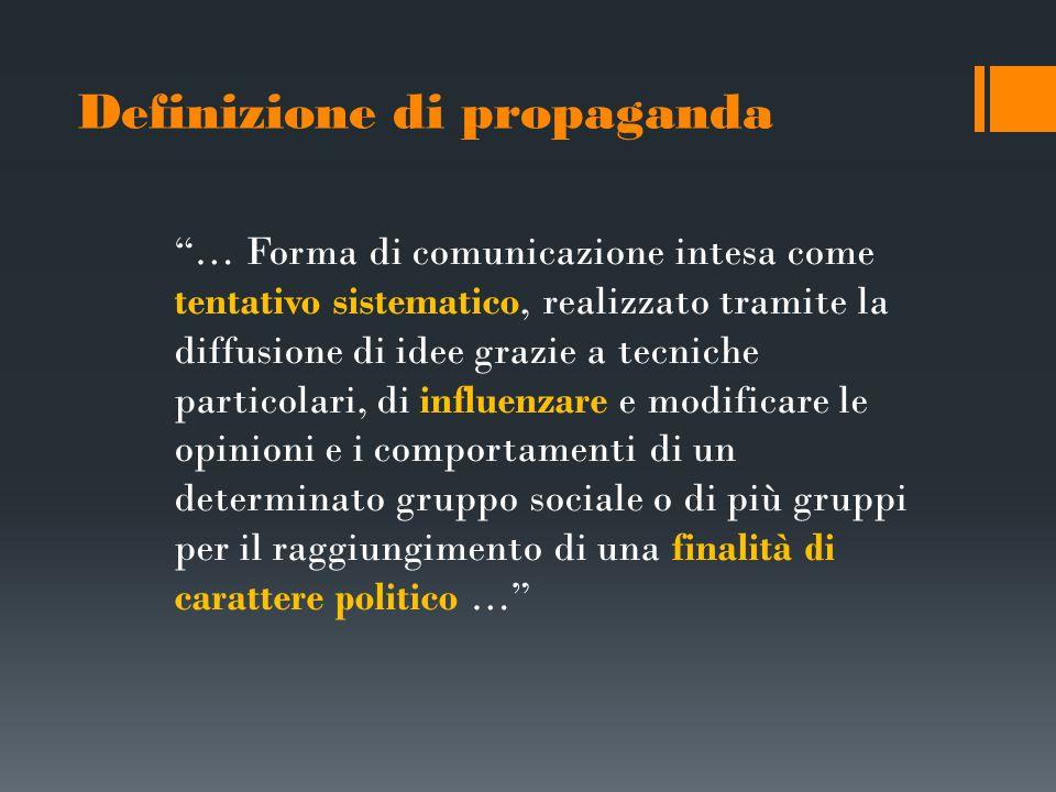 Definizione di propaganda