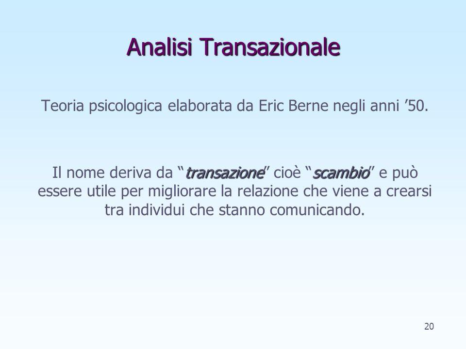 Analisi Transazionale