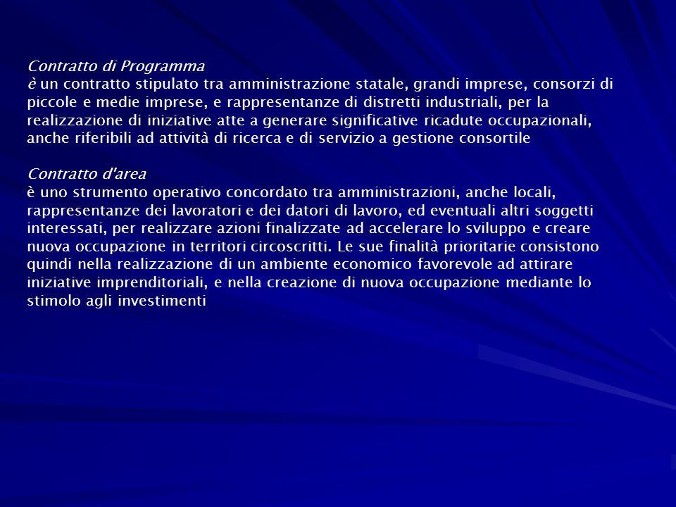 Contratto di Programma
