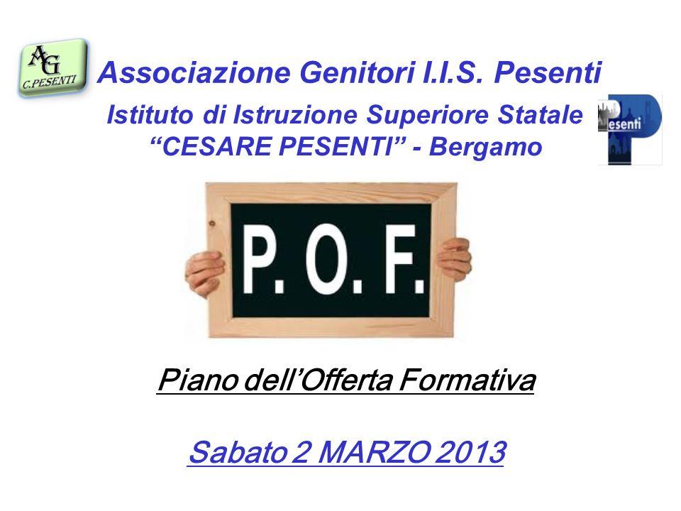 Piano dell'Offerta Formativa Sabato 2 MARZO 2013