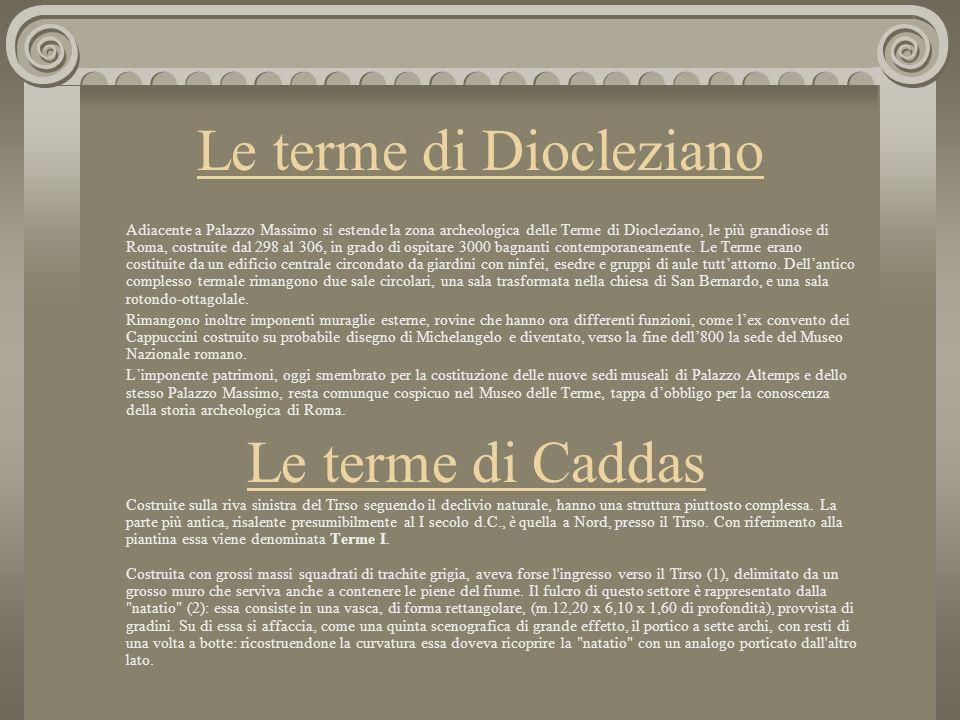 Le terme di Diocleziano