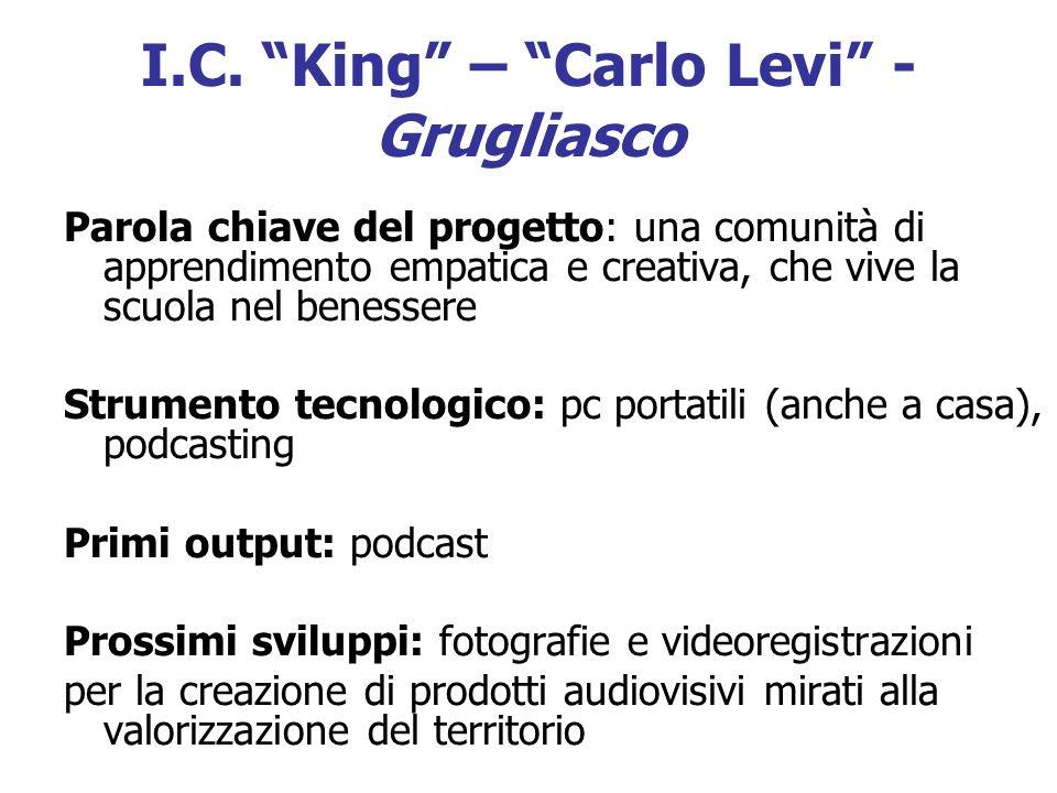 I.C. King – Carlo Levi - Grugliasco