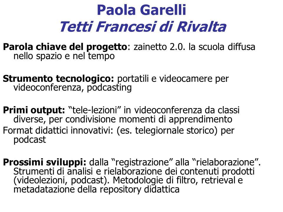 Paola Garelli Tetti Francesi di Rivalta