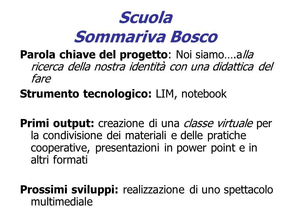 Scuola Sommariva Bosco