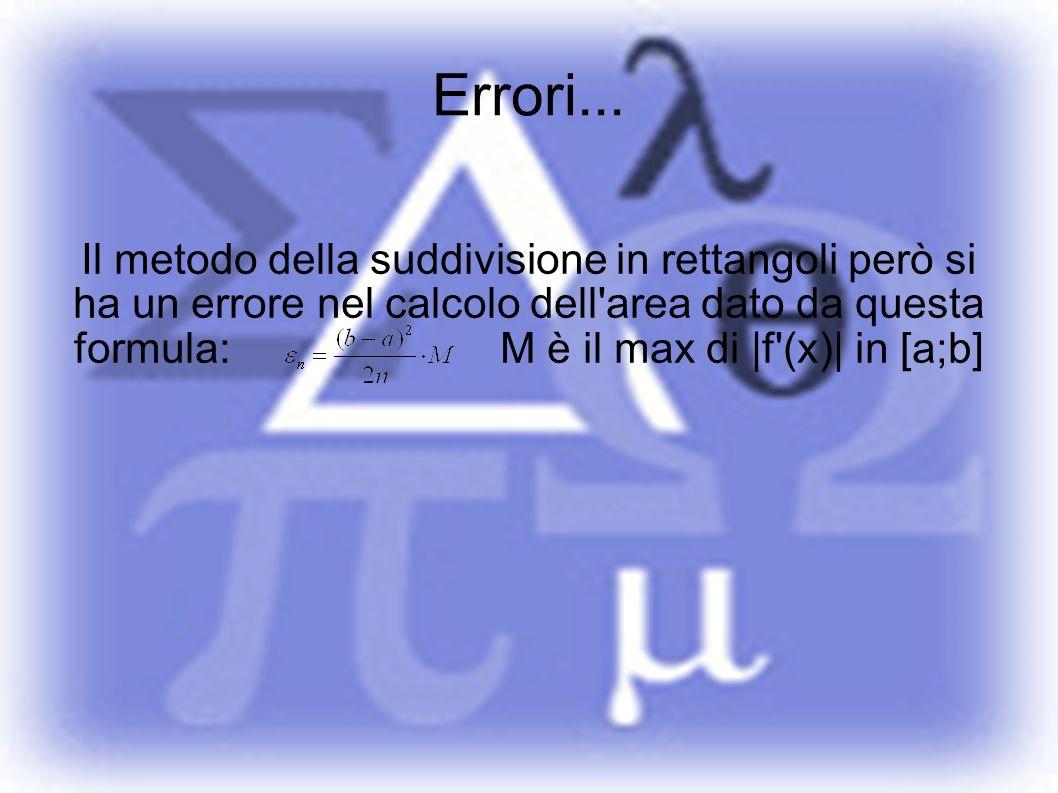 Errori...