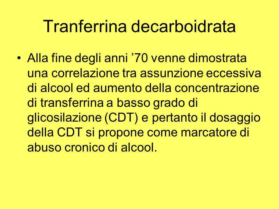 Tranferrina decarboidrata