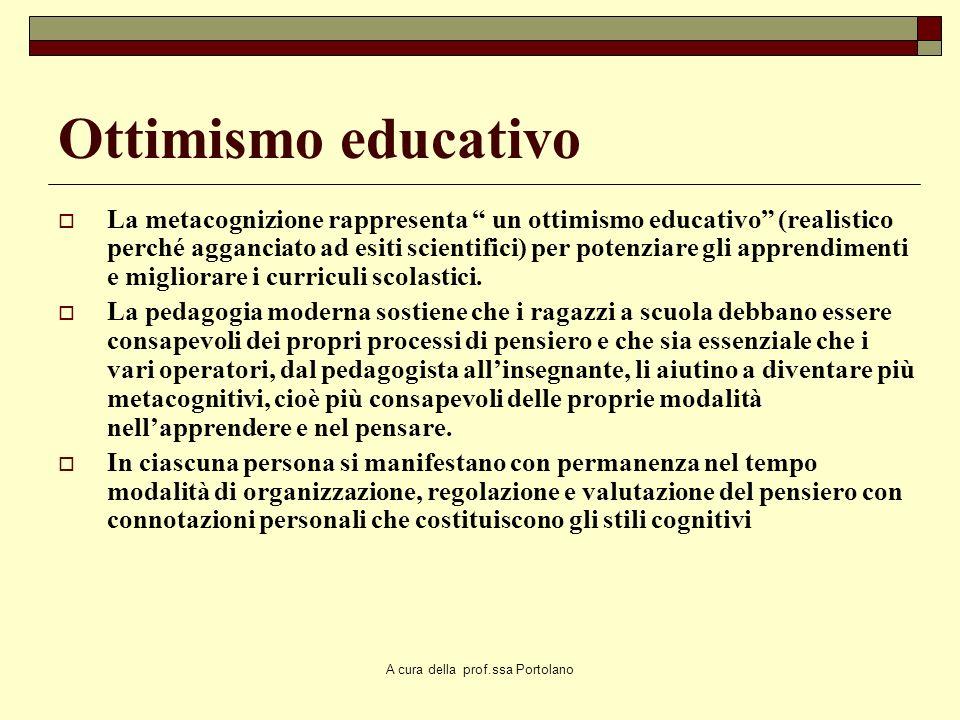 A cura della prof.ssa Portolano