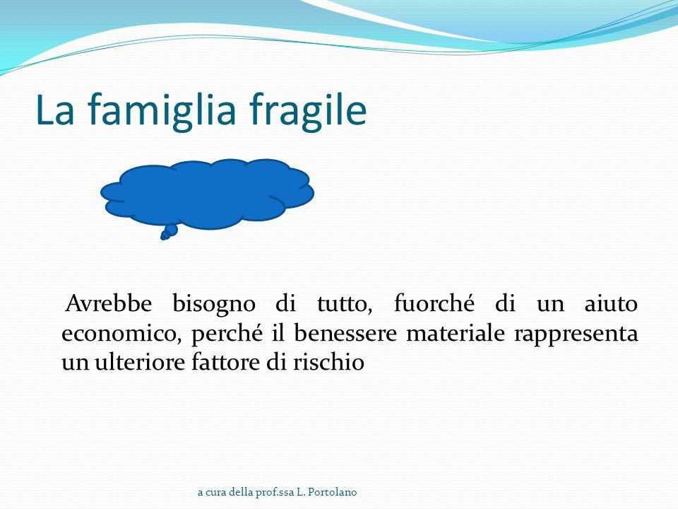 La famiglia fragile