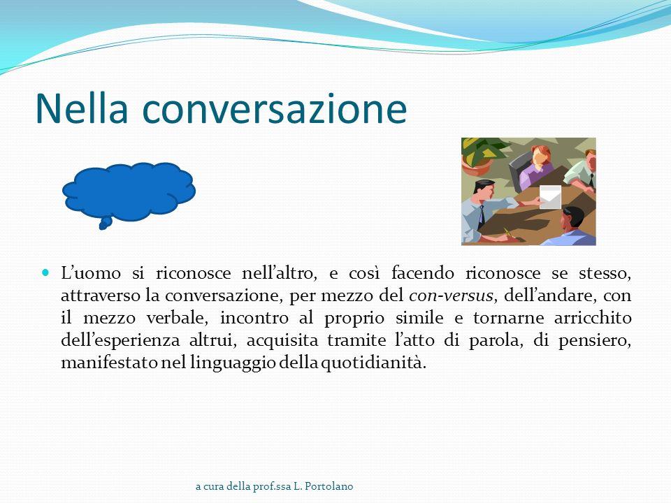 Nella conversazione