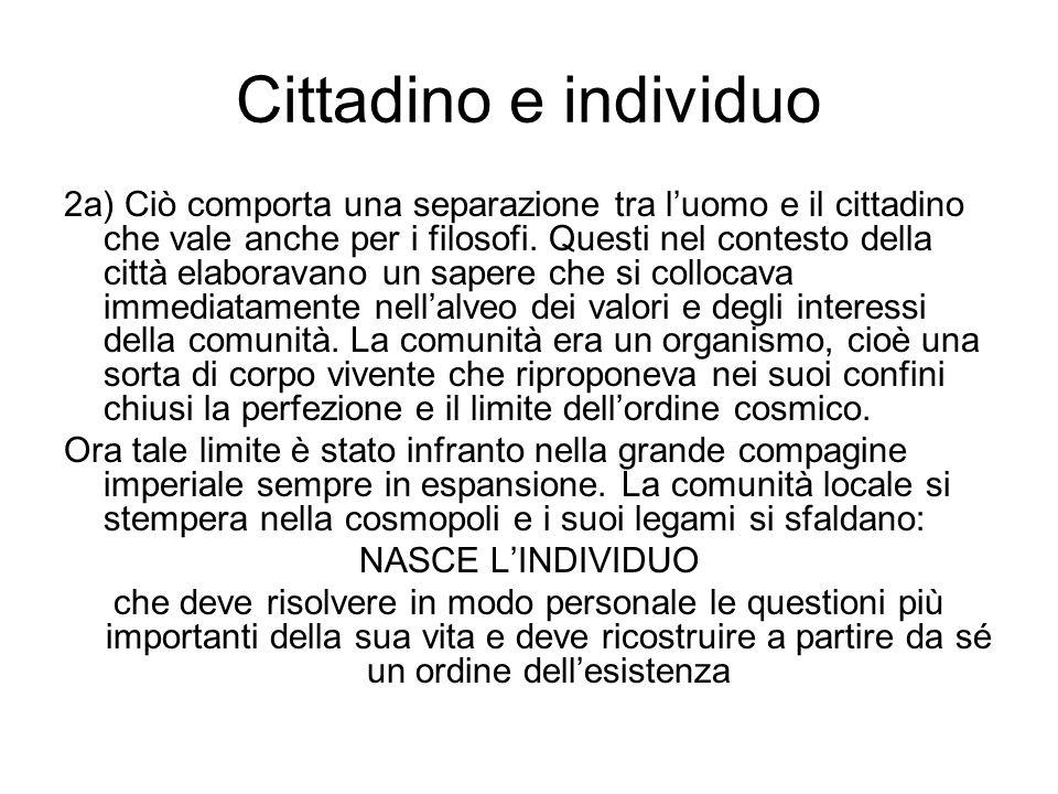 Cittadino e individuo