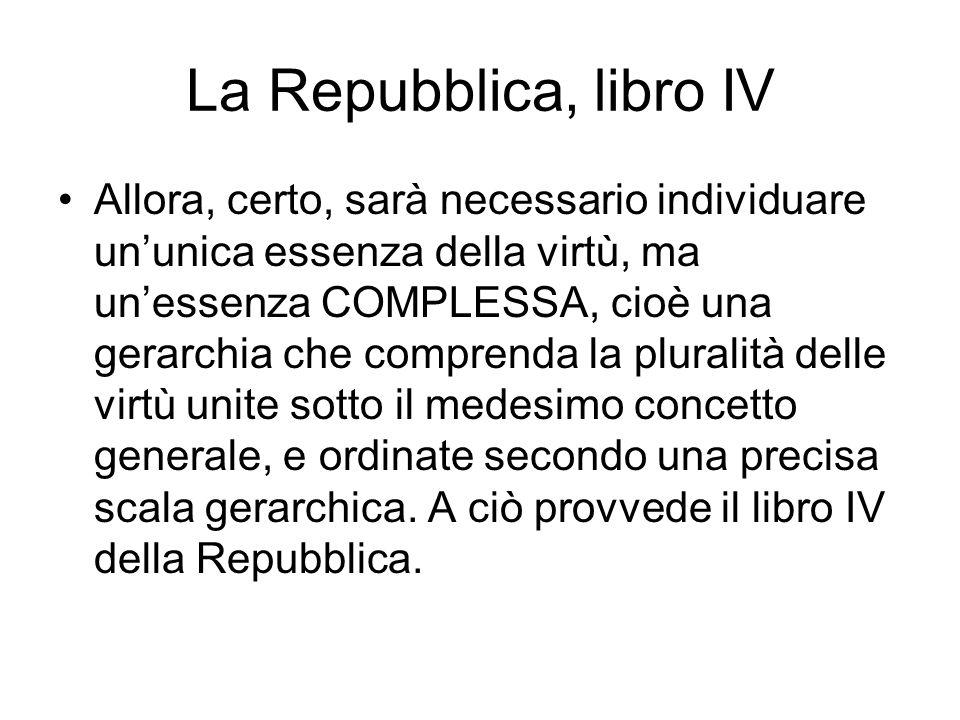 La Repubblica, libro IV
