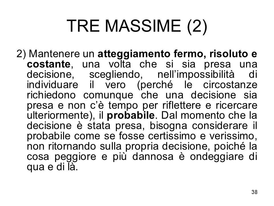 TRE MASSIME (2)
