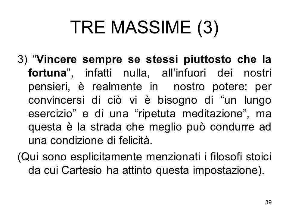 TRE MASSIME (3)