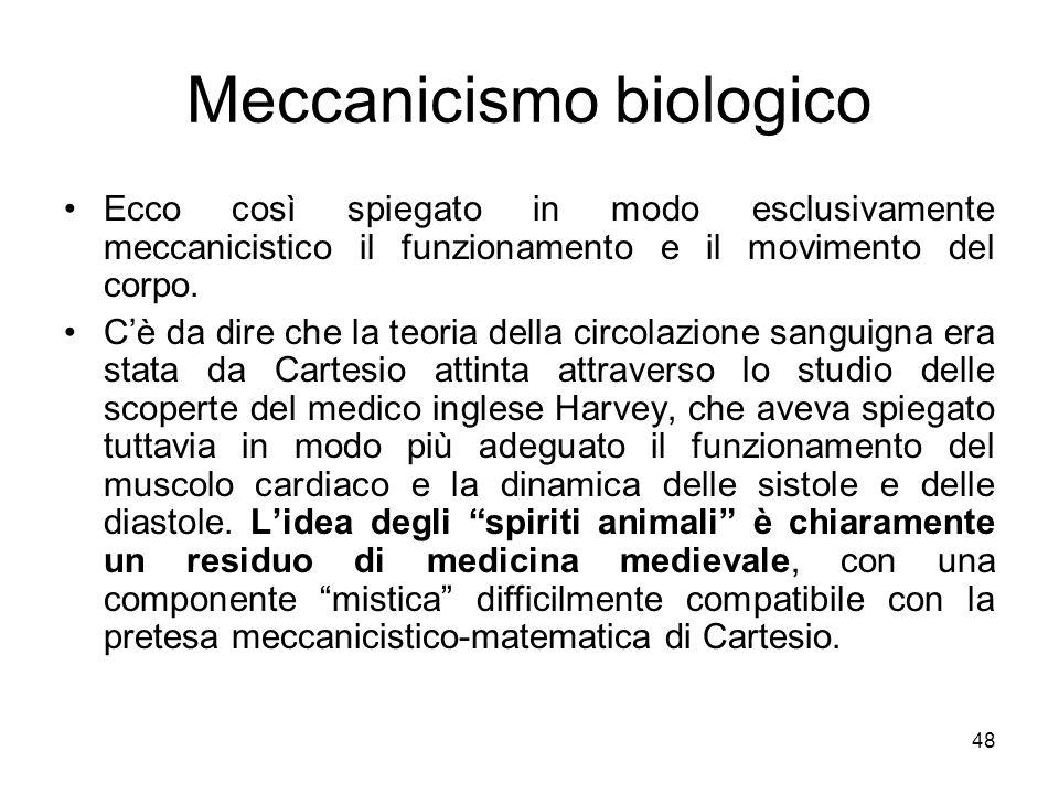 Meccanicismo biologico