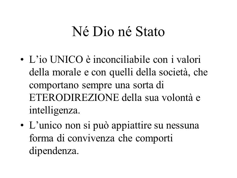 Né Dio né Stato