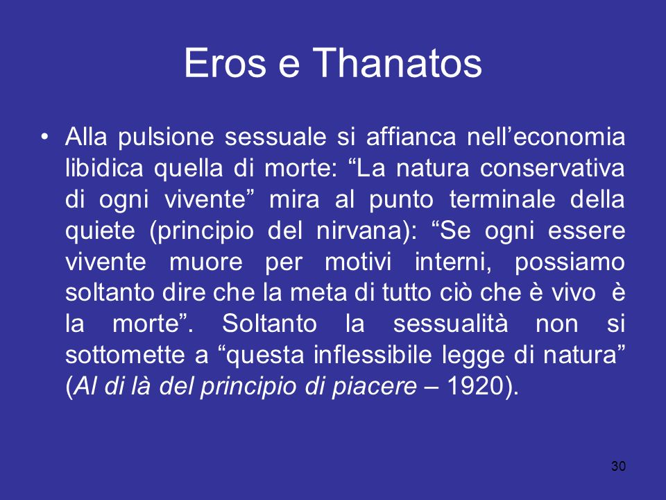 Eros e Thanatos