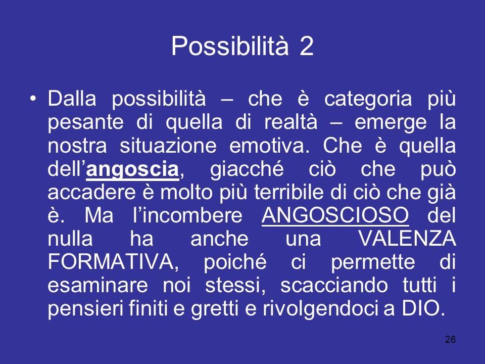 Possibilità 2