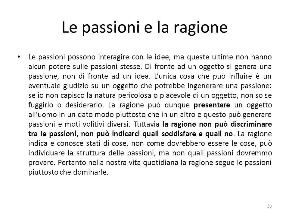 Le passioni e la ragione