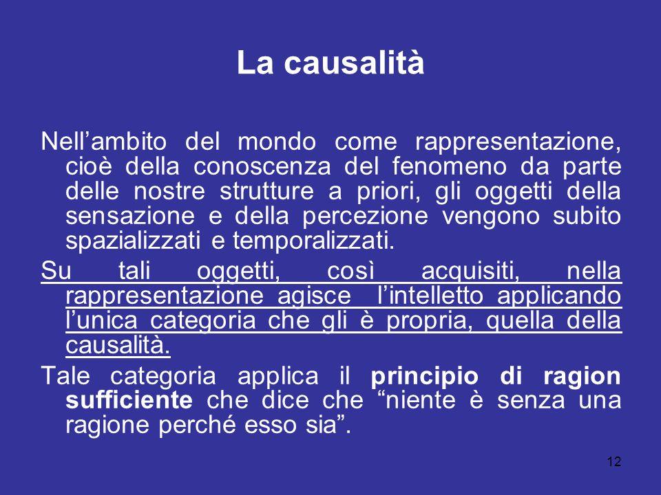 La causalità