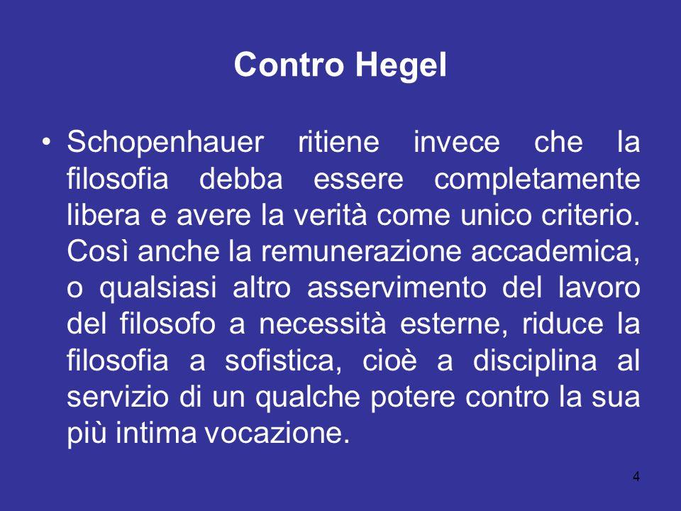 Contro Hegel