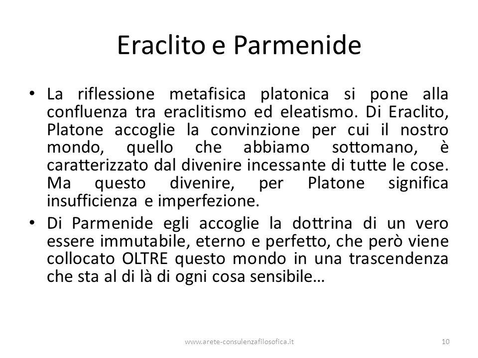 Eraclito e Parmenide