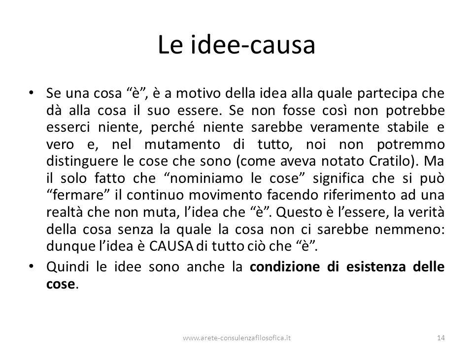 Le idee-causa