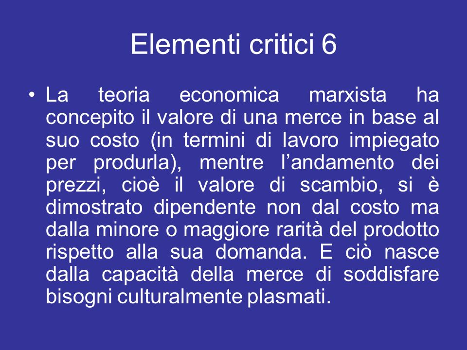 Elementi critici 6