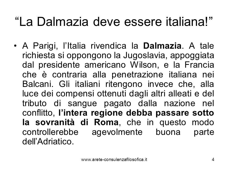 La Dalmazia deve essere italiana!