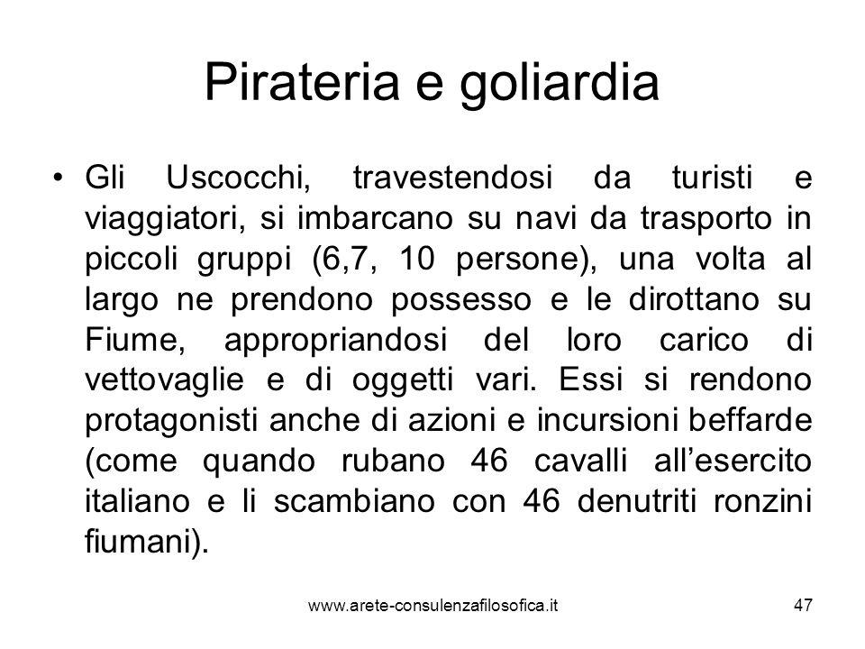 Pirateria e goliardia