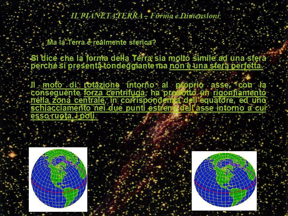 Ma la Terra è realmente sferica