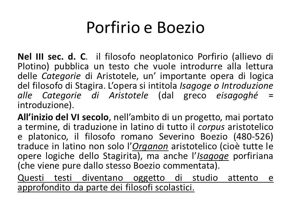 Porfirio e Boezio