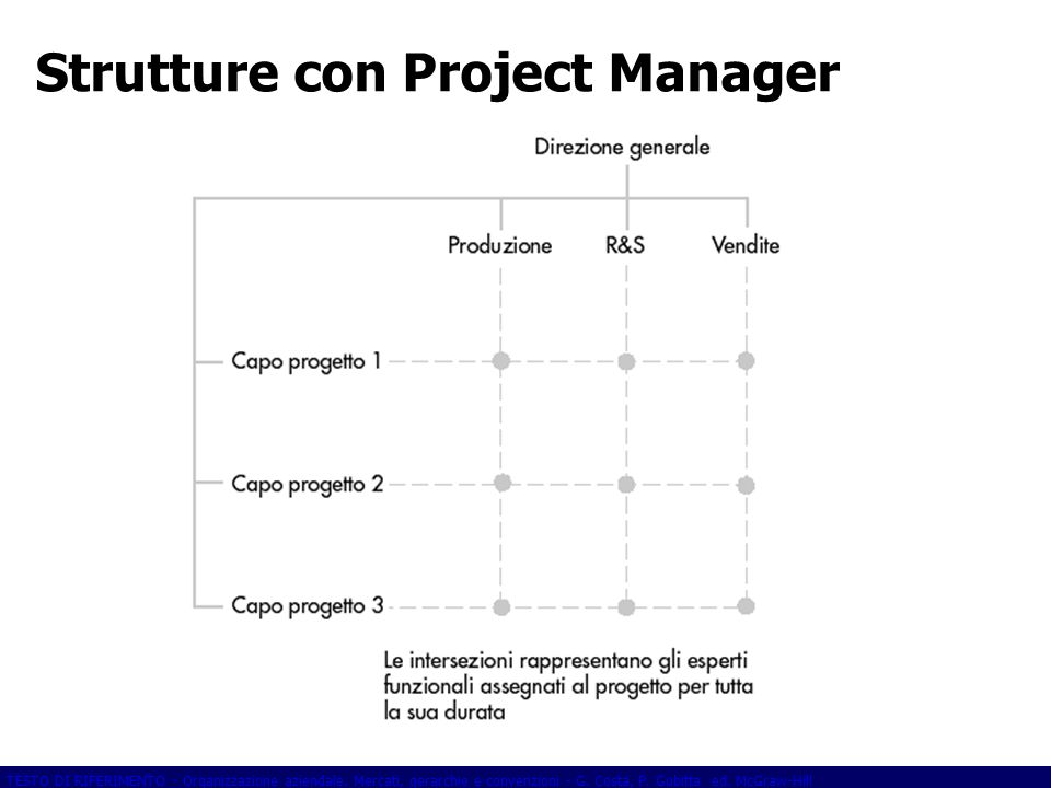 Strutture con Project Manager