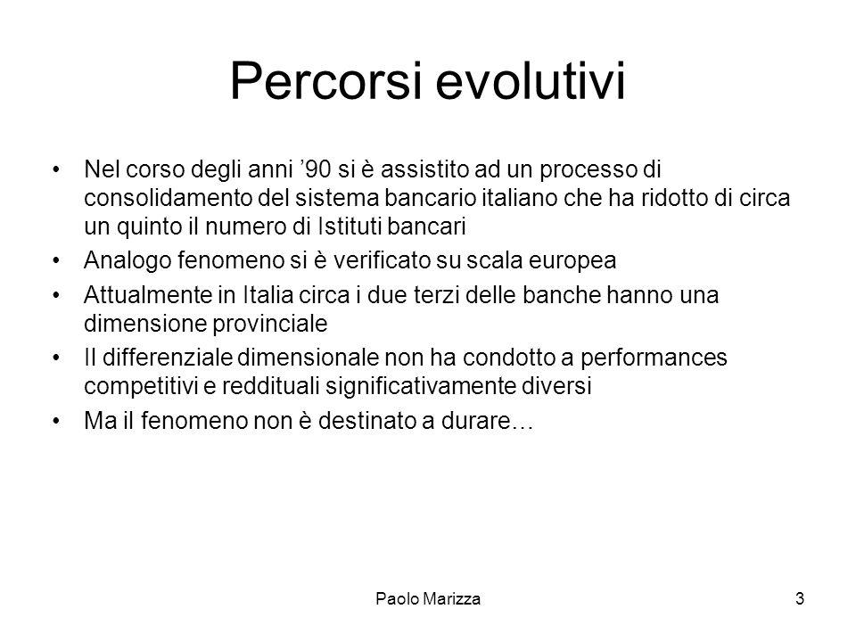 Percorsi evolutivi