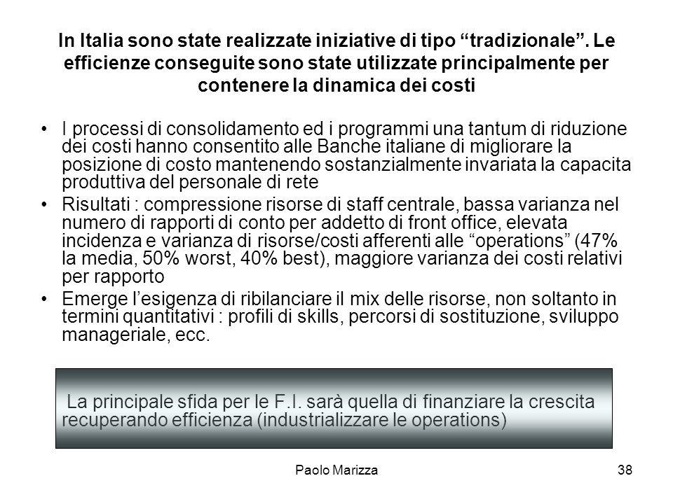 In Italia sono state realizzate iniziative di tipo tradizionale