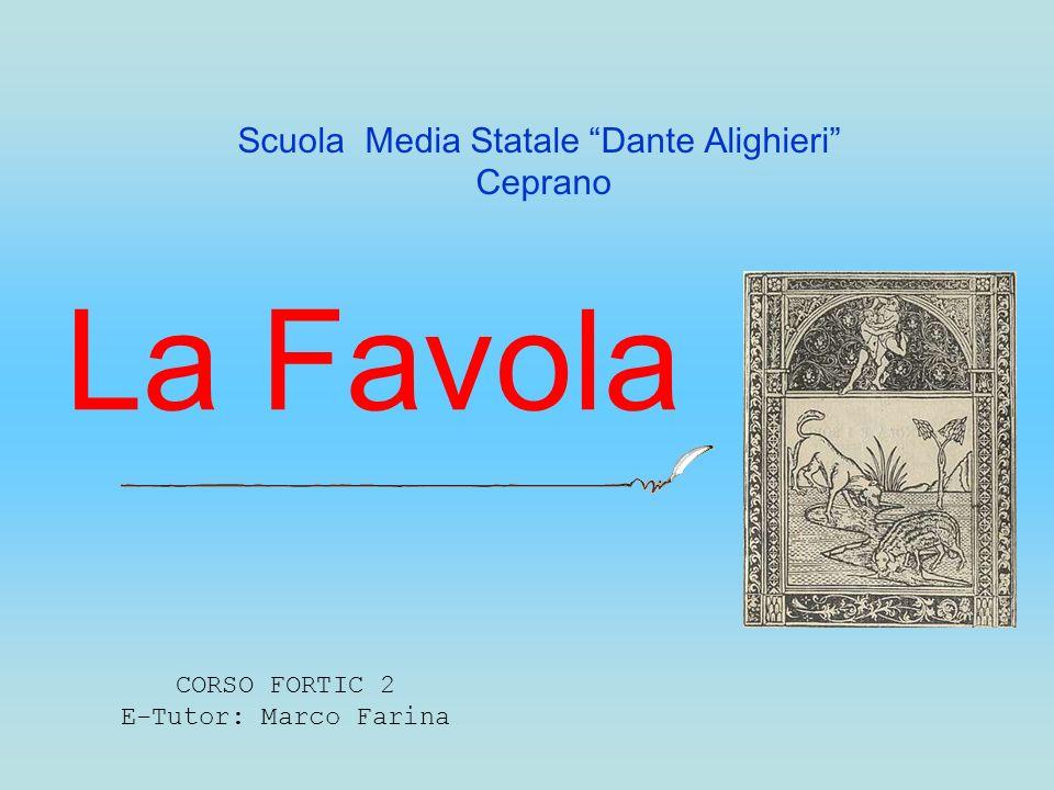 CORSO FORTIC 2 E-Tutor: Marco Farina