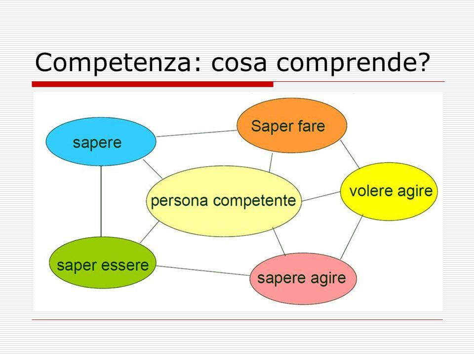 Competenza: cosa comprende