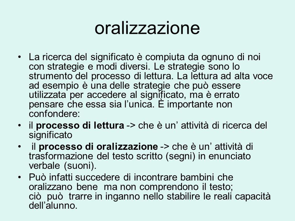 oralizzazione