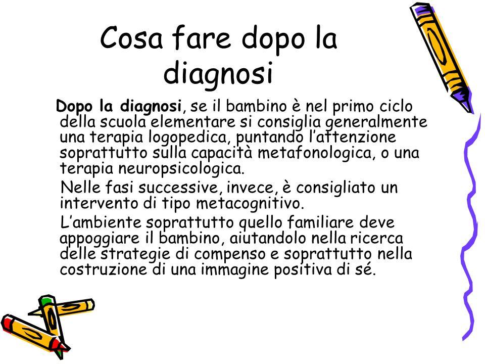 Cosa fare dopo la diagnosi